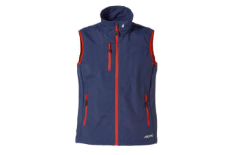 Musto Mens Sardinia BR1 Zip Up Waterproof Fleece Gilet (Navy)