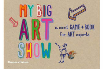 My big art show - A Card Game + Book - Collect Paintings to Win