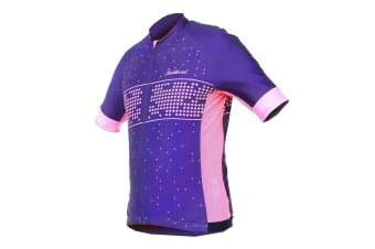 Spring/summer new cycling suit bike short sleeve top Starry Jersey L