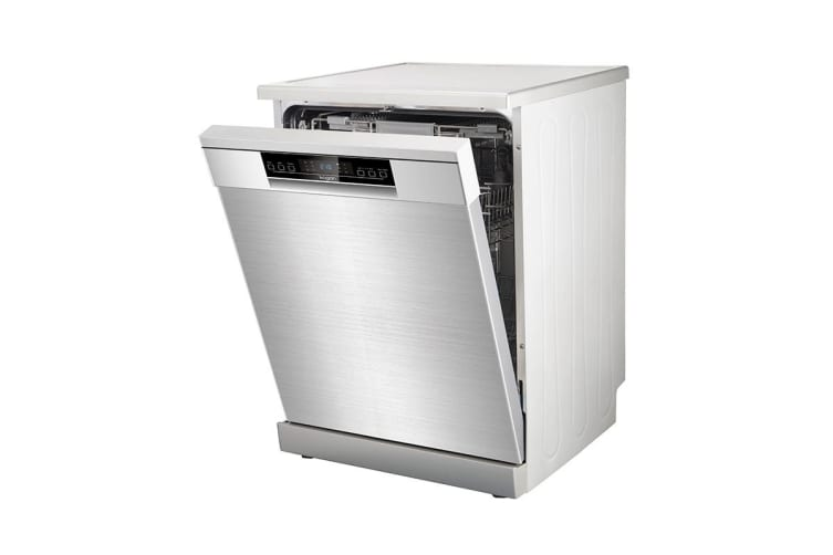 Kogan Series 9 Freestanding Dishwasher (Stainless Steel) with LED Display & Top Cutlery Tray