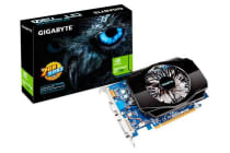 Gigabyte nVidia GeForce GT 730 2GB PCIe Video Card DDR3 4K HDMI DVI VGA 3 Displays Fan 700Mhz (~GV-N730SL-2GL)