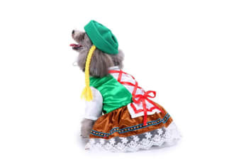 Dog Costumes Holiday Halloween Christmas Pet Clothes Soft Comfortable Dog Clothes M