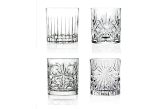 RCR Mixology Bicchieri 300ml Tumblers Set of 4