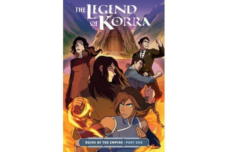 The Legend of Korra - Ruins of the Empire Part One