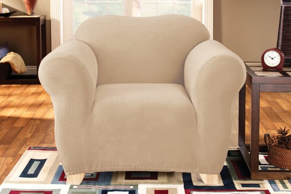 SureFit Pearson Sofa Chair Cover - Ivory