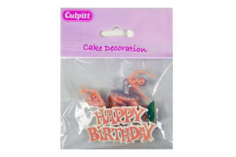 Culpitt Party Cake Toppers (Ballerina) (One Size)