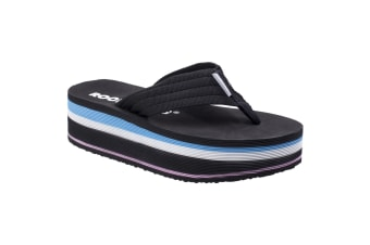 Rocket Dog Womens/Ladies Jimmies OG Web Slip On Sandal (Black)