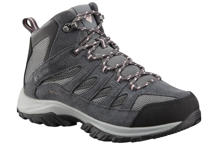 Columbia Womens Crestwood Mid Waterproof Boots - Ti Grey Rose