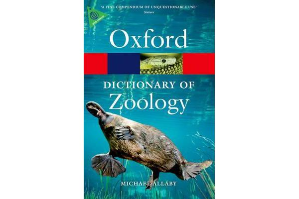 A Dictionary of Zoology