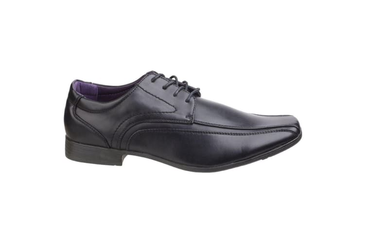 US Brass Hauser Mens Lace Up Shoes (Black) (9 UK)