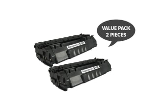 Q7553A Q5949 CART315i CART 308i Black Premium Toner (Two Pack)
