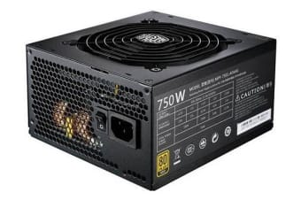 Cooler Master ER MWE 80+ GOLD, 750W, MODULAR CABLE, COMPACT SIZE WITH 12CM FAN