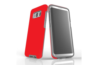 For Samsung Galaxy S8 Case  Armour Tough Protective Cover  Red