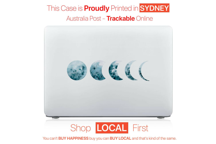 """Hard Case Cover for Apple Macbook Pro 13"""" Inch A1708-Moon"""