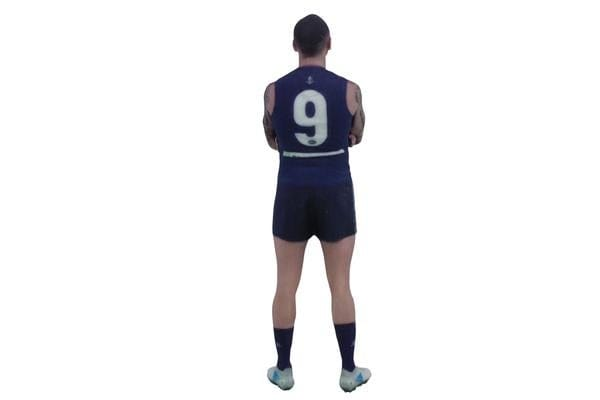 Bradley Hill AFL Fremantle Dockers 3D Printed Mini League Figurine - 18cm