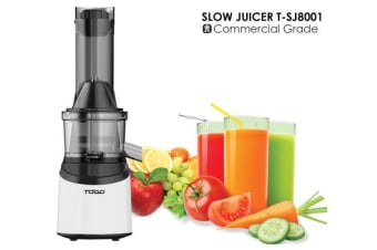 TODO Commercial Grade Slow Juicer Juice Extractor Press