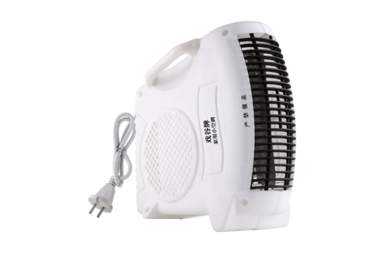 WJS Portable Office Desktop Heater Household Electric Heater Small Air Conditioner Student Electric Heater