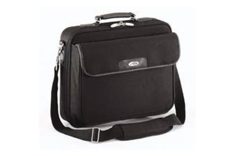 Targus 15.6' Notepac, Black, Padded Compartment, Notebook carry case - CN01