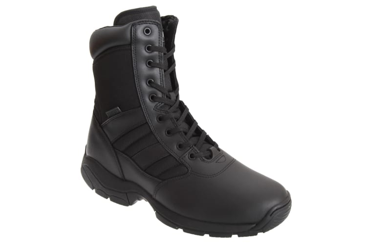 Magnum Mens Panther 8 Inch Side Zip Military Combat Boots (Black) (9 UK)