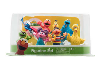 Sesame St 8 Pack Figurines