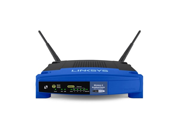 Linksys WRT54GL Wireless-G Broadband Router (WRT54GL-AU)