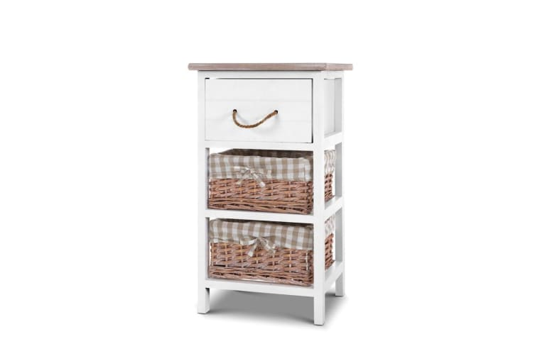 Artiss Bedside Tables Side Table Chest of Drawers Storage Cabinet Nightstand