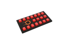 Tai-Hao ABS Red 18 Keys Cap