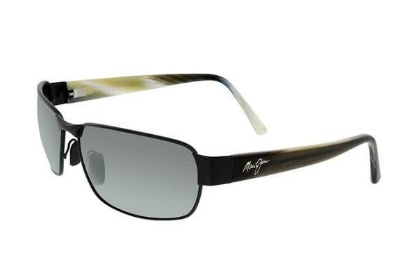 Maui Jim Black Coral - Matte Black (Neutral Grey Polarised lens) Unisex Sunglasses