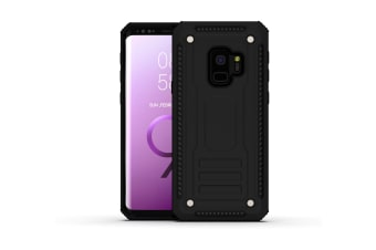 For Samsung Galaxy S9 Case  Armour Strong Shockproof Thin Tough Cover  Black