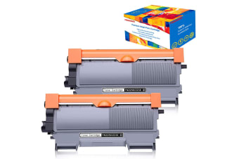 2pc Compatible TN2350 TN2330 Toner for Brother HL L2300 2340 2365 2380 MFC L2700