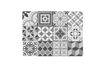 Ogilvies Designs Moroccan Villa Tile Placemat Grey