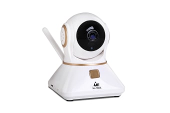 UL-TECH 1080P Wireless IP Camera (White/Gold)