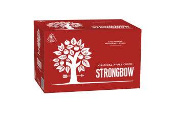 Strongbow Classic Apple Cider 24 x 355mL Bottles