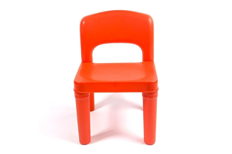 Kids Chair for Build Blocks LEGO Play Table - Red