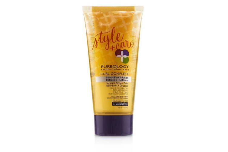 Pureology Curl Complete Style + Care Infusion Definition + Softness (For Colour-Treated Curls and Waves) 150ml/5oz