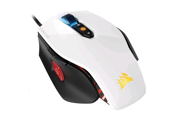 Corsair Gaming M65 Pro RGB FPS - 12000 Dpi PC Gaming Mouse - White