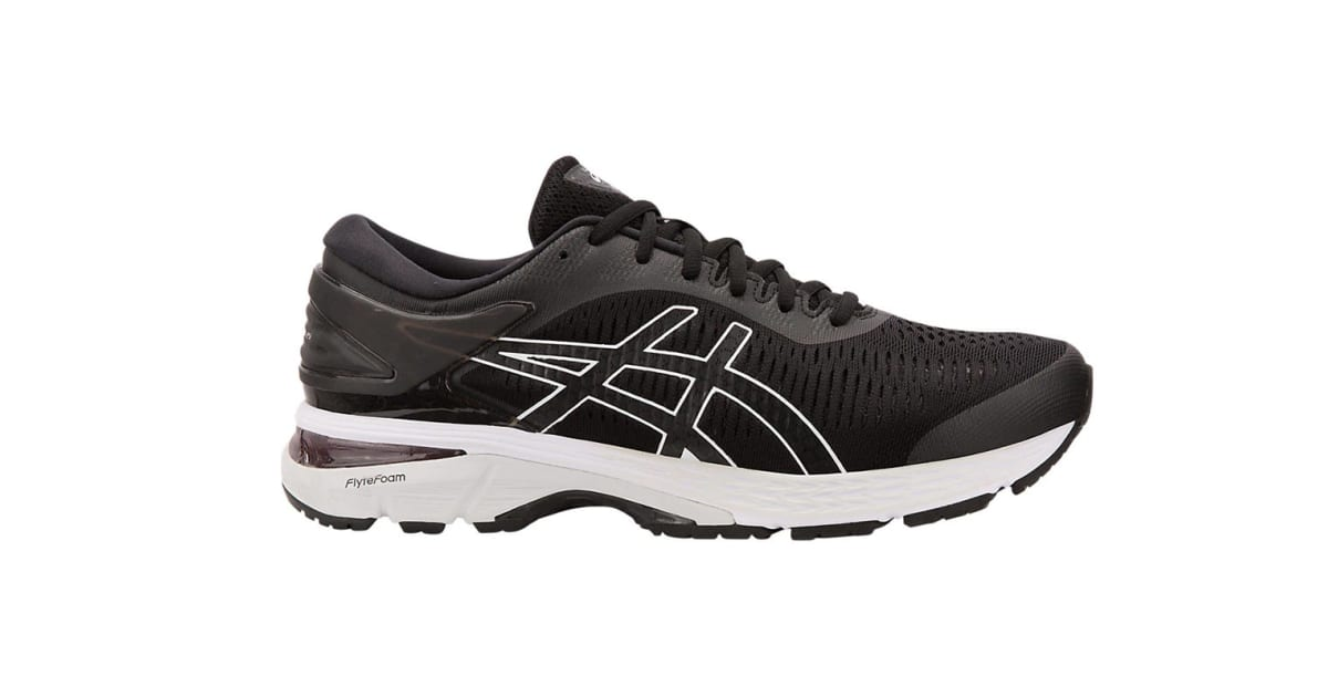 buying new 60% clearance good reputation ASICS Men's Gel-Kayano 25 Running Shoe (Black/Glacier Grey, Size 11.5) |  Shoes