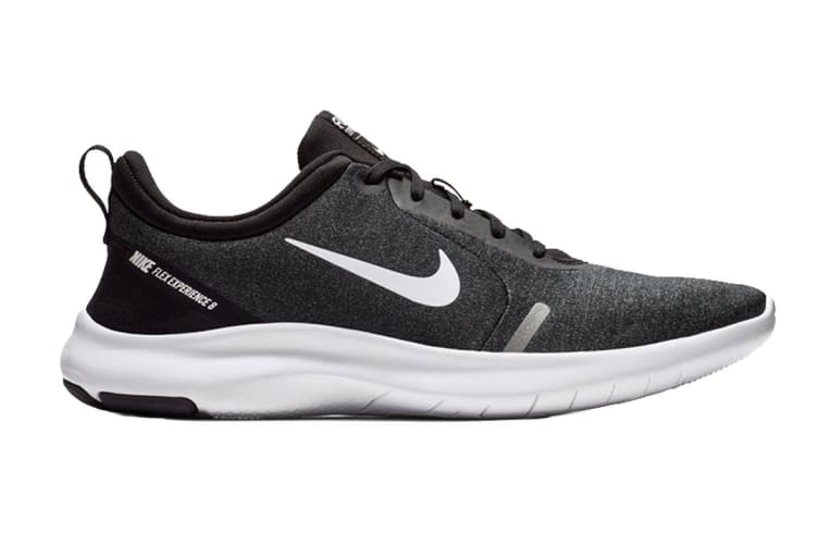 Nike Men's Flex Experience RN 8 (Black/Grey, Size 10.5 US)