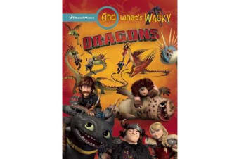 Find What's Wacky - Dragons