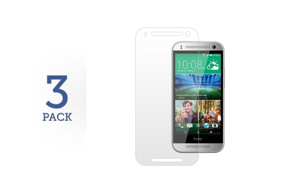 3 Pack Screen Protector for HTC One Mini 2