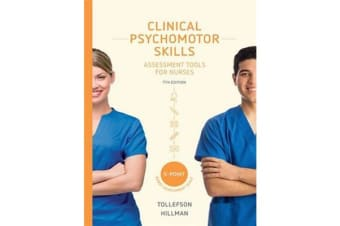 Clinical Psychomotor Skills (5-Point) - Assessment Tools for Nurses with Online Study Tools 12 months