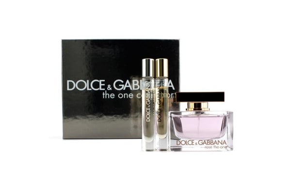 Dolce & Gabbana The One Collection Coffret: Rose The One Eau De Parfum Spray 75ml/2.5oz + 2x Fragrance Pen 6ml/0.2oz (3pcs)