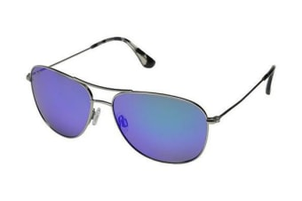 Maui Jim Blue Hawaii Cliff House B247-17 Silver Mens Womens Sunglasses Polarised