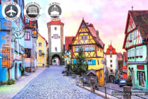 EUROPE: 16 Day Classic European River Cruise Including Flights for Two