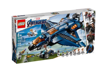 LEGO Marvel Avengers Ultimate Quinjet (76126)