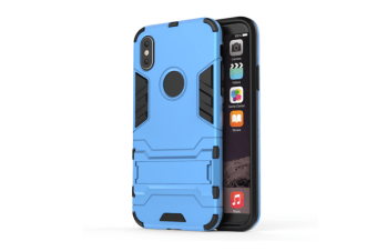 Full-Armoured Protective Case Of Steelman Stealth Bracket Phone Case For Iphone Blue Iphone 6Plus/6S Plus