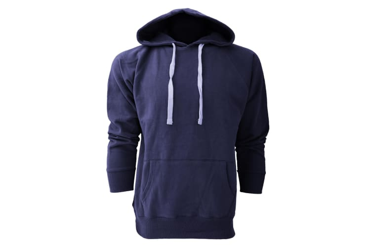 Mantis Mens Superstar Hoodie / Hooded Sweatshirt (Swiss Navy) (M)