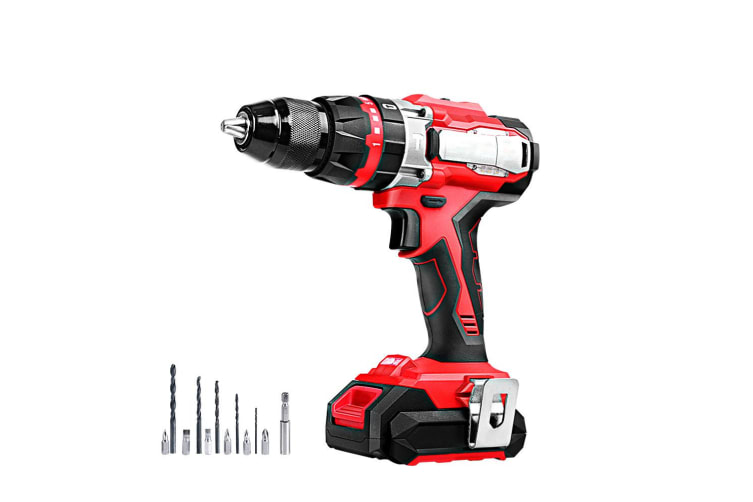 Hammer Drill Impact Cordless Brushless Drill Electric 20V Lithium