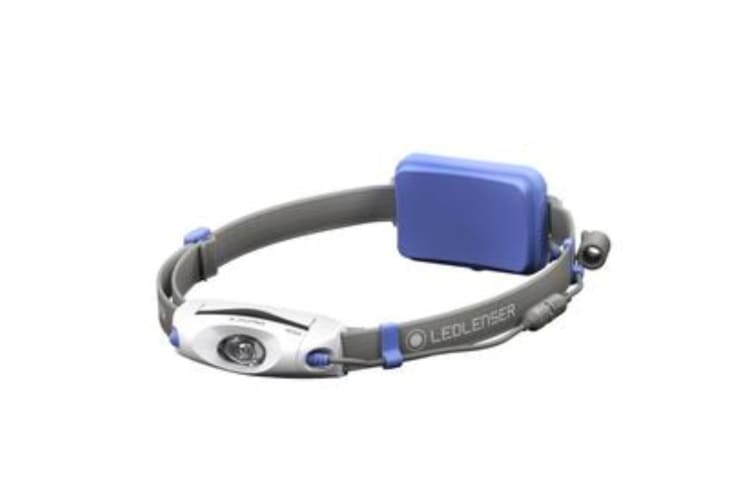 LED LENSER NEO6R Headlamp RECHARGEABLE 240 Lumens Head Torch BLUE