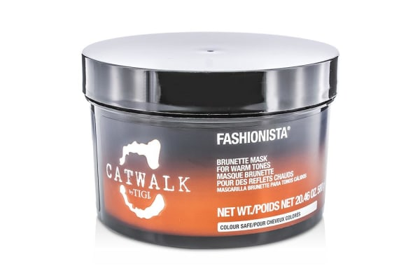 Tigi Catwalk Fashionista Brunette Mask (For Warm Tones) (580g/20.46oz)